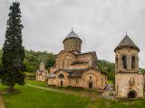 Vue du monastère de Ghélati