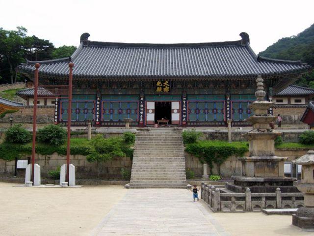 Temple d'Haeinsa Janggyeong Panjeon