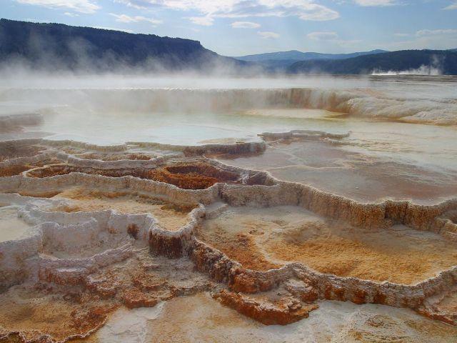 Mammoth Hots Springs