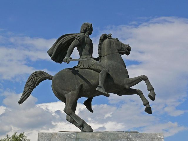 alexander the great horse images