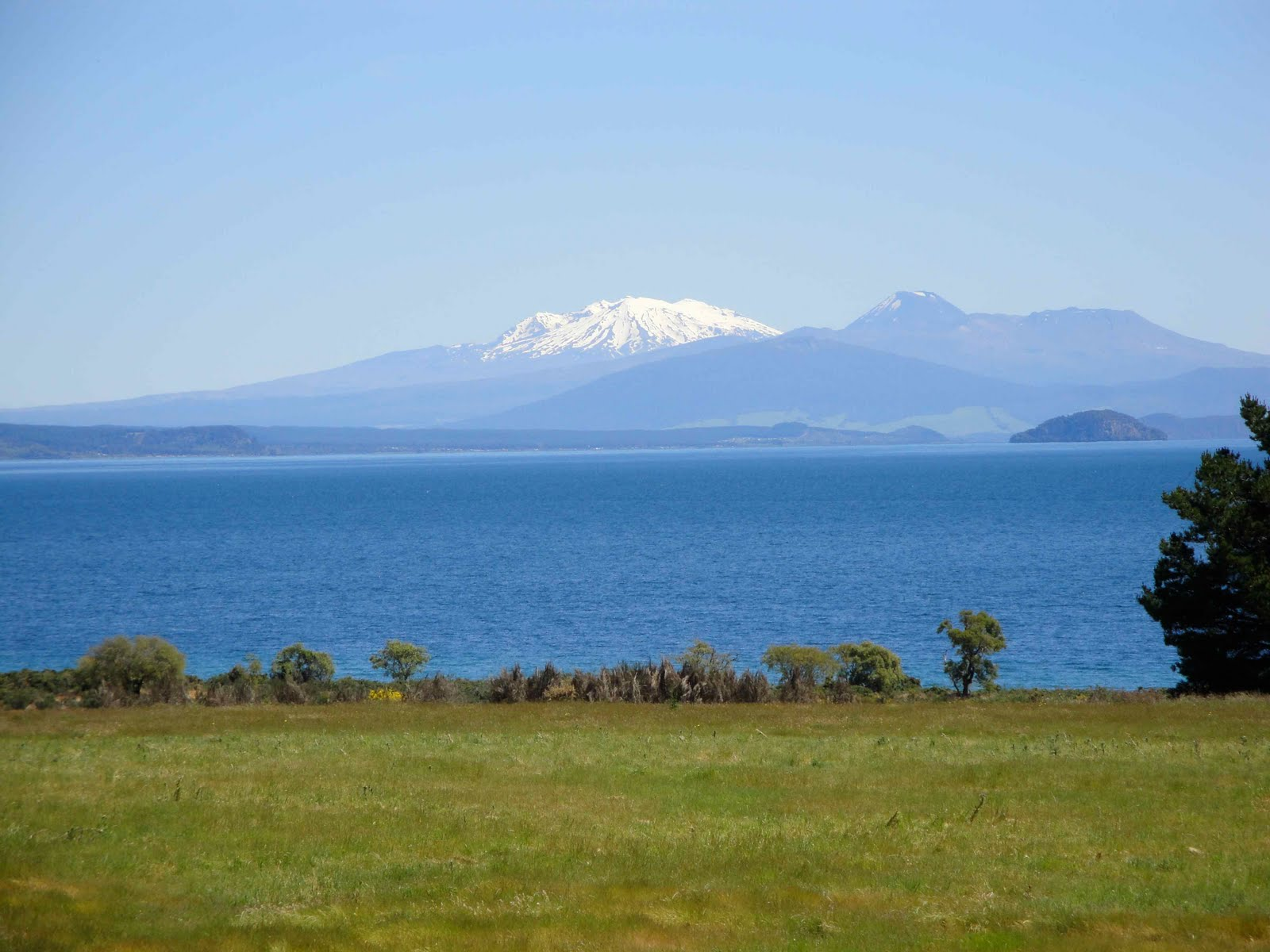 Taupo New Zealand  city pictures gallery : Mt. Ruapehu, Lake Taupo, New Zealand, Landolia, a World of Photos