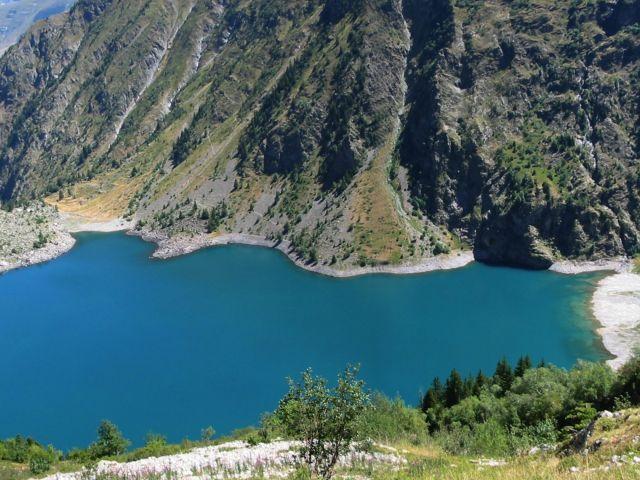 Lac de Lauvitel, parc national des Écrins