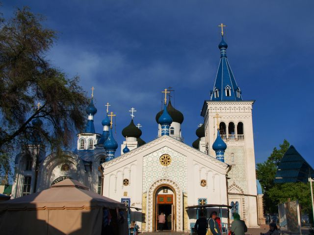 Cathédrale orthodoxe russe de la Sainte Résurrecti