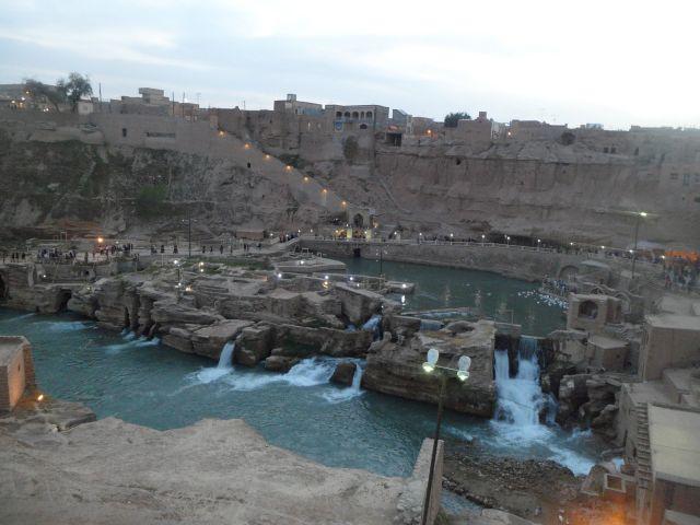 Système hydraulique historique de Shushtar