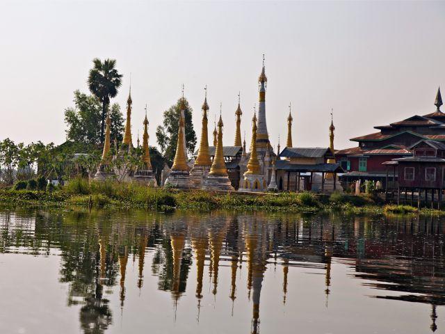 Reflets de Stupas