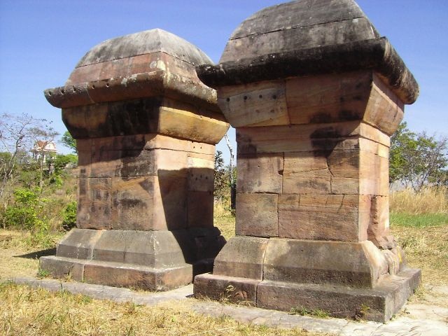 Twin Stupas