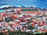 Aerial view of Garachico