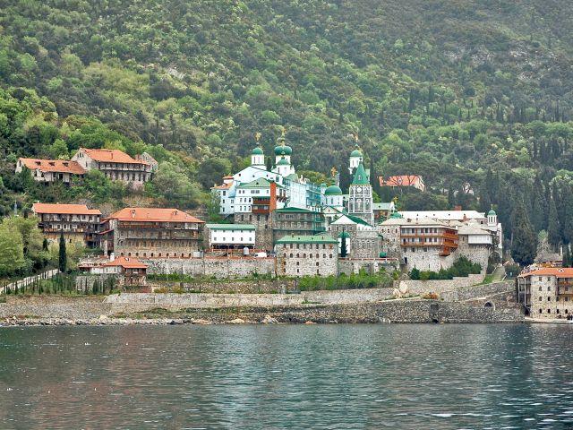 Monastère Saint-Panteleimon, mont Athos