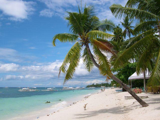 Plage Alona, île Panglao