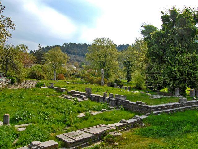 Agora antique, Thasos