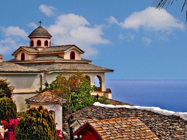 Monastère de l'Archange Michel, île de Thasos
