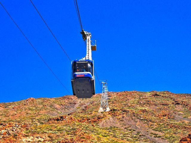 Téléphérique sur le Teide