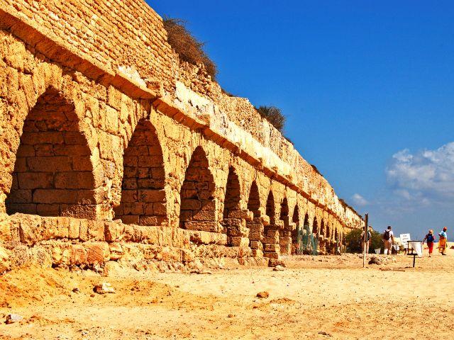 Aqueduc romain de Césarée