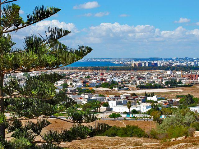 Carthage vue de la colline de Byrsa