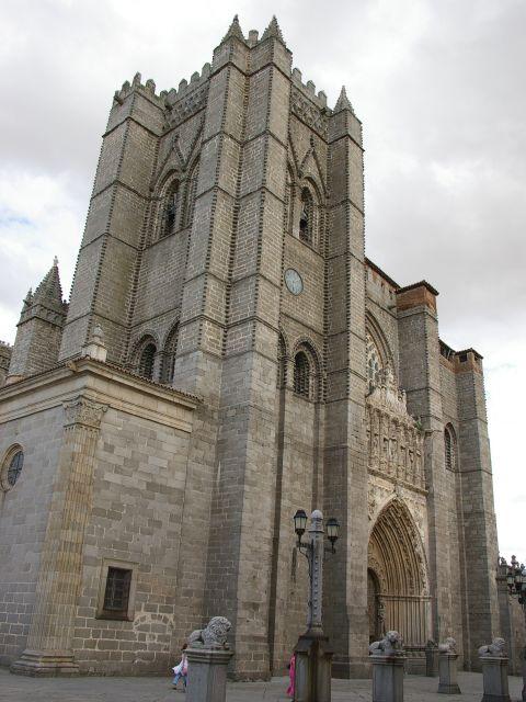 Cathédrale d'Ávila