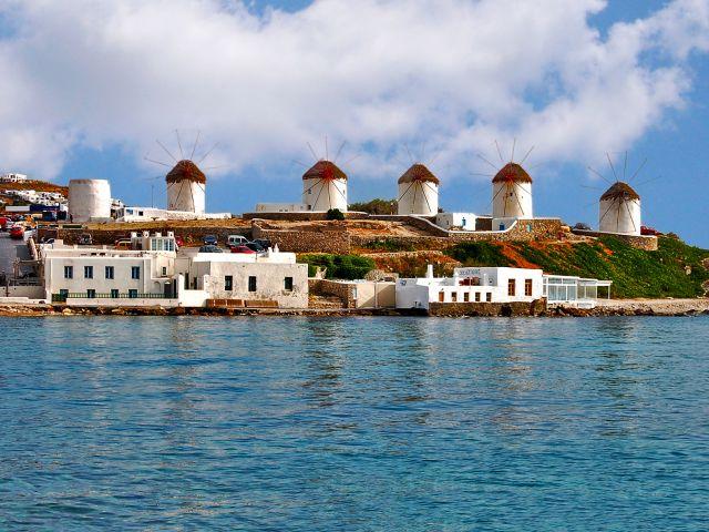 Moulins à vent de Myconos