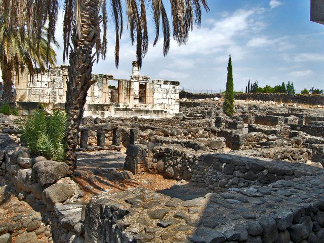 Ruines excavées