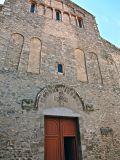 Façade of the abbey of Sainte-Marie d'Arles