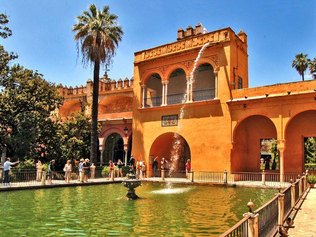 Jardin de El Estanque, Alcazar de Séville