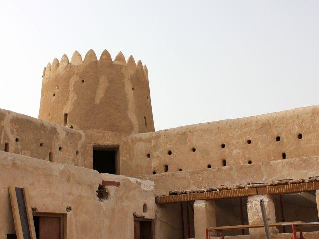 Intérieur du fort Zubarah