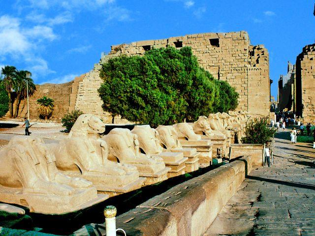 Entrée de Karnak