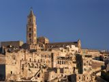 Panoramic view of Matera Cathedral