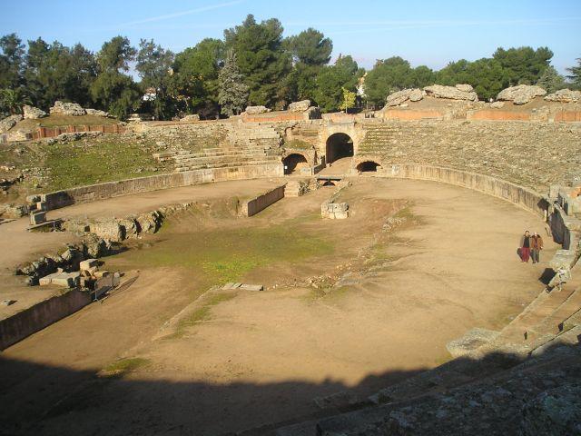 Amphithéâtre de Mérida