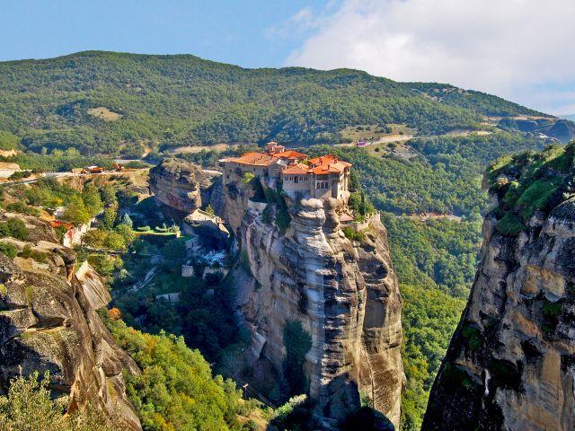 Vue du monastères des Météores