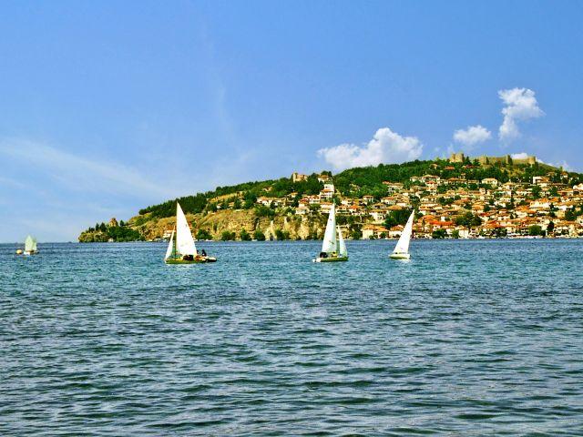 Ohrid et lac d'Ohrid