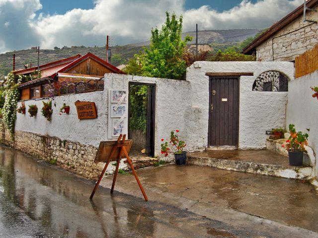 Maison des peintres à Monagri