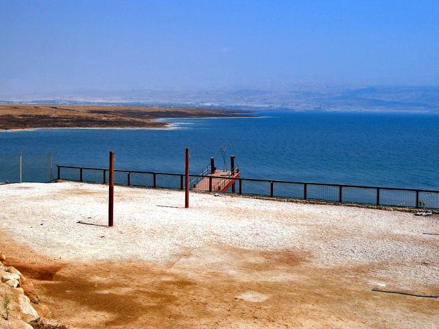Panorama de la mer Morte
