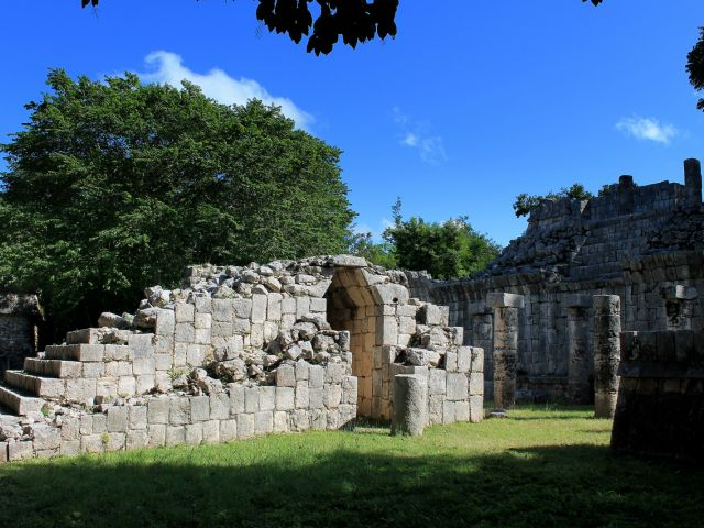 Porte en ruine du temple, Chichen Itza