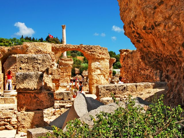 Ruines des thermes d'Antonin, Carthage