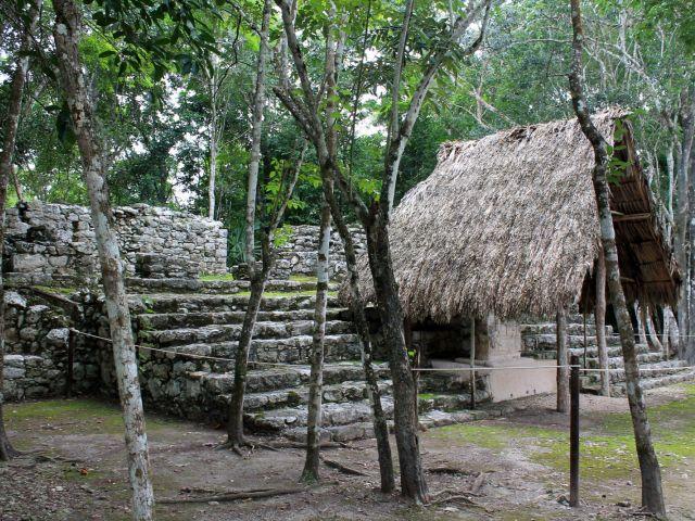 Ruines à Cobá