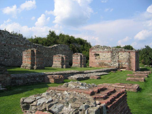 Gamzigrad-Romuliana, palais de Galère