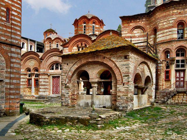 Petite chapelle au monastère de Hilandar