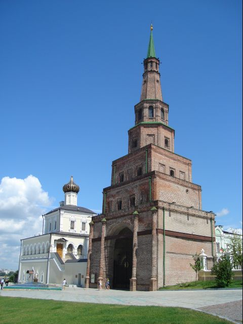 Tour Söyembikä du kremlin de Kazan