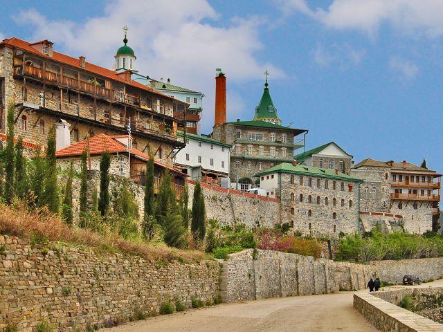 Monastère Saint-Panteleimon, Athos