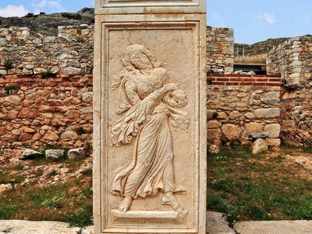 Stèle à Philippes