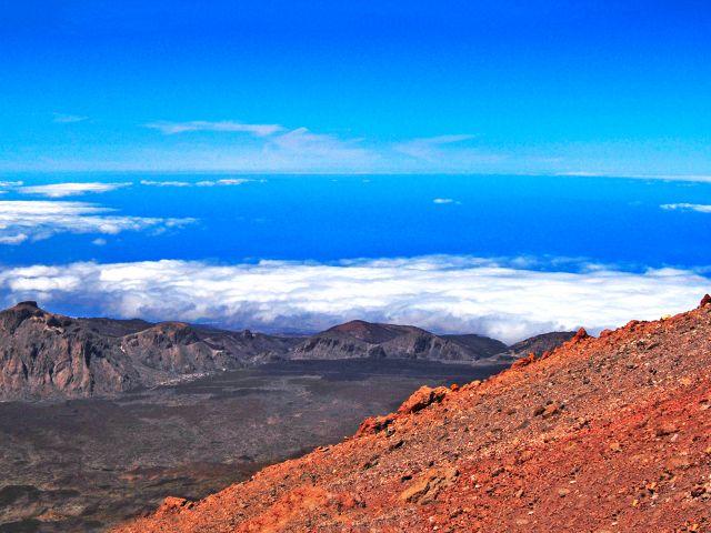 Vue depuis le Teide