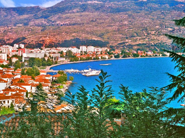 Vue d'Ohrid
