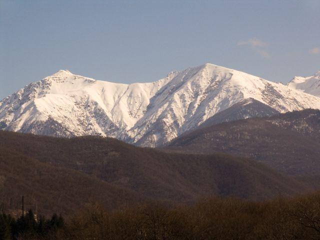 Vue du Caucase de l'Ouest