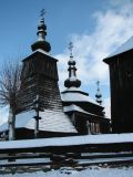 Wooden church in Ladomirová