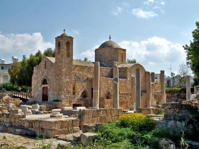 Basilique de Chrysopolitissa, Nea Paphos