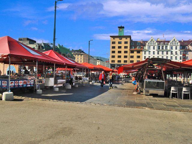 Marché de Bergen