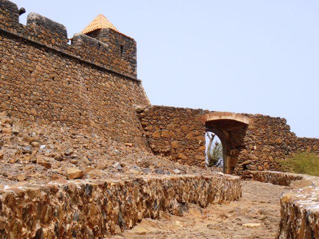 Entrée de la forteresse de Cidade Velha