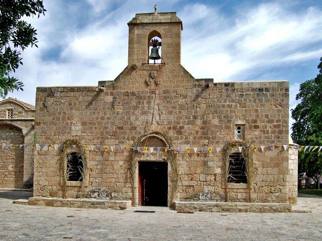 Façade de l'église Panagia Angeloktisti