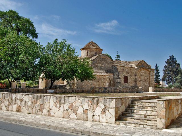 Vue de l'église Panagia Angeloktisti