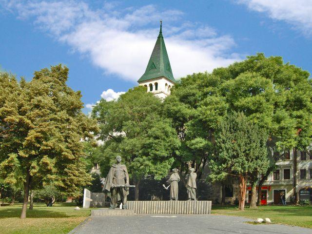 Le monument de SNP