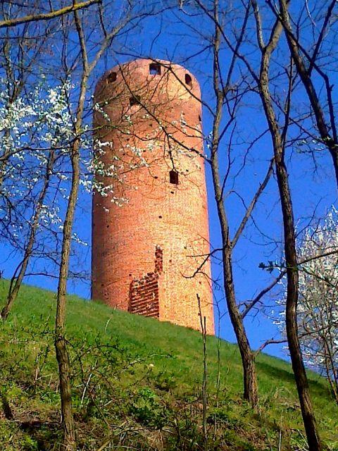Tour ronde au château de Czersk
